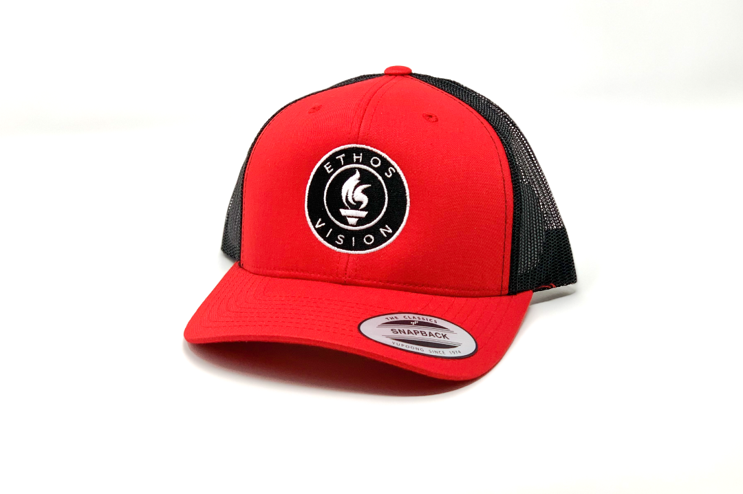 Vision Trucker - Red/Black