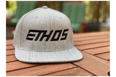 Podium Hat - Heather Grey/Black
