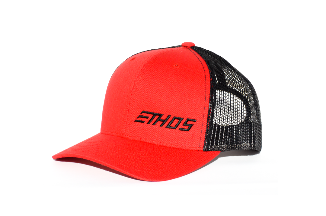 Ethos Trucker - Red/Black