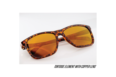 ELEMENT - Tortoise - Copper Lens (Mirrored)