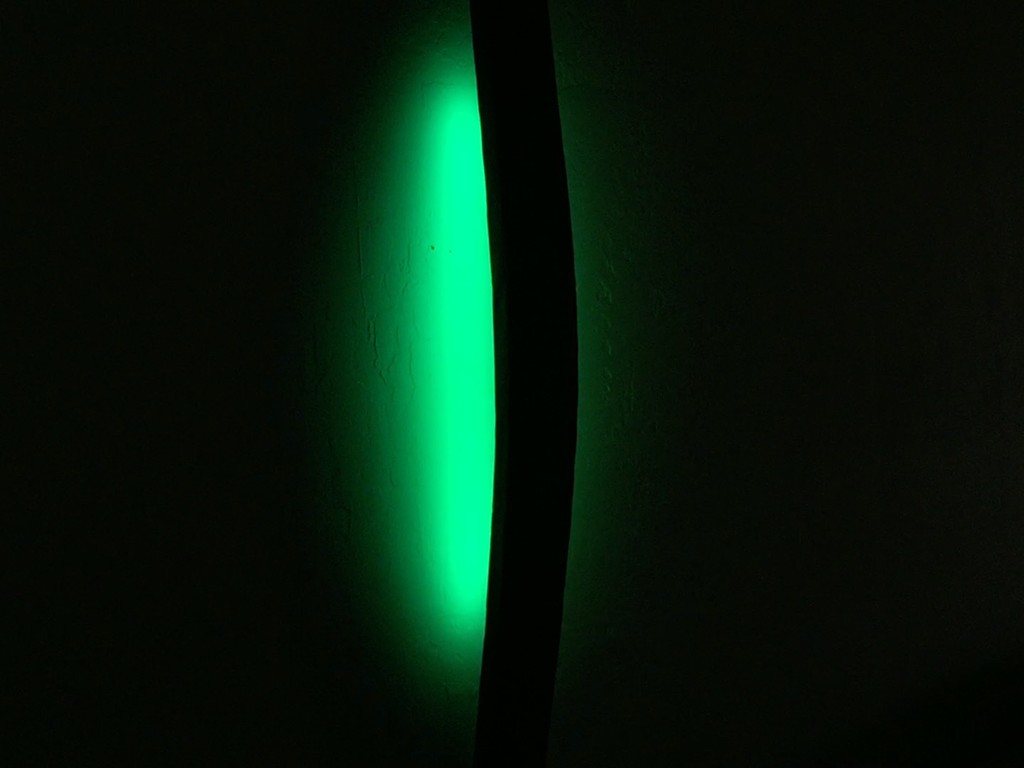 LED Color Changing Stave Wall Sconce