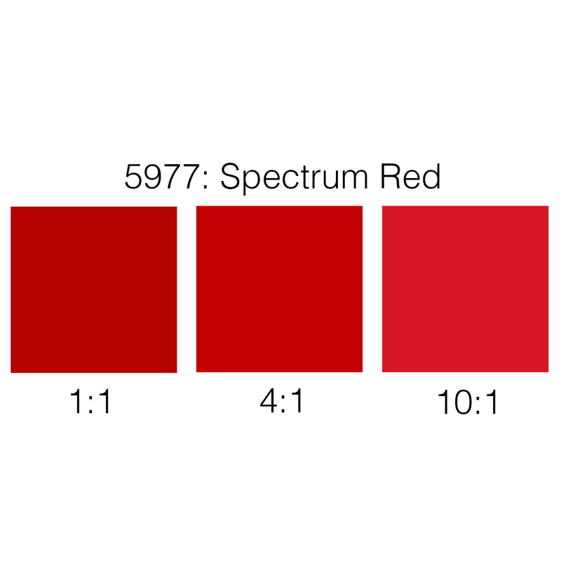 Rosco Supersaturated Scenic Paint - 5977 Spectrum Red 1L