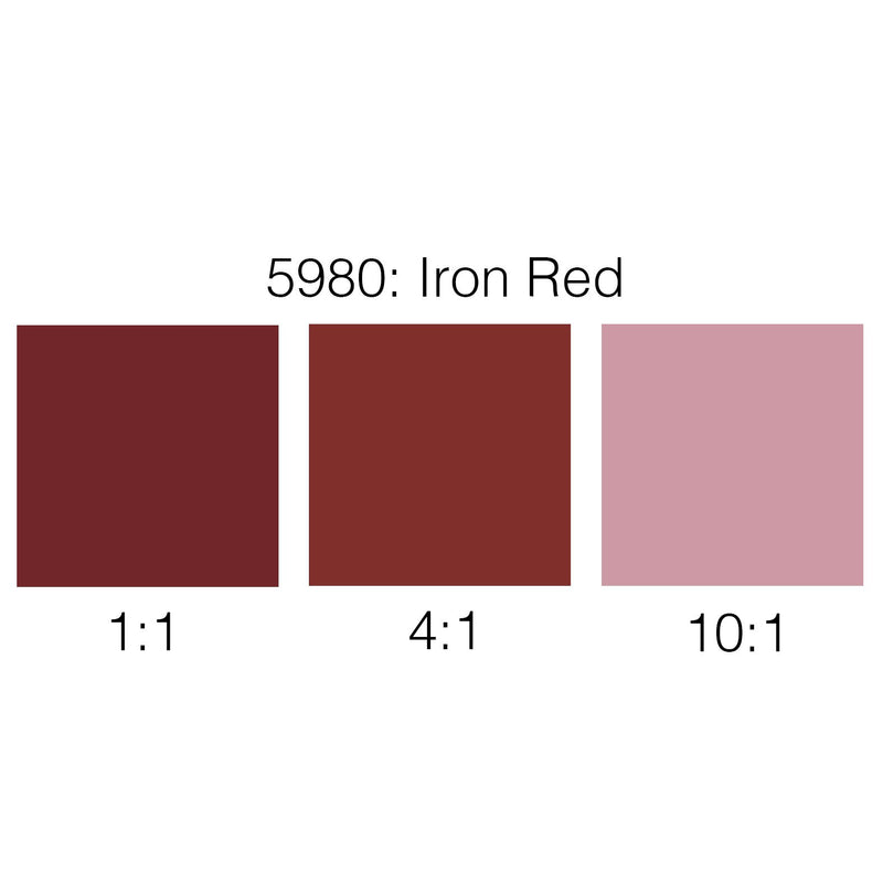 Rosco Supersaturated Scenic Paint - 5980 Iron Red 1L