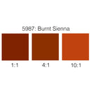 Rosco Supersaturated Scenic Paint - 5987 Burnt Sienna 1L