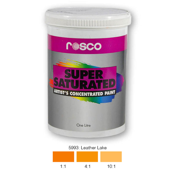 Rosco Supersaturated Scenic Paint - 5993 Leather Lake 1L