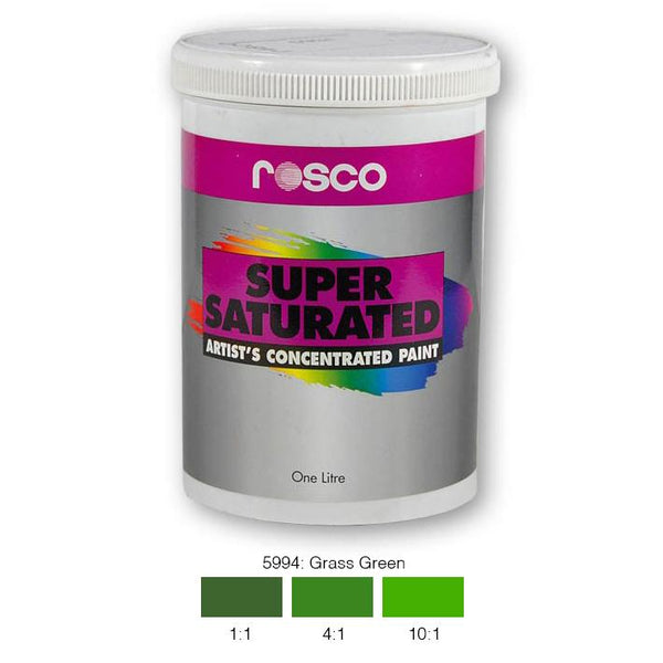 Rosco Supersaturated Scenic Paint - 5994 Grass Green 1L