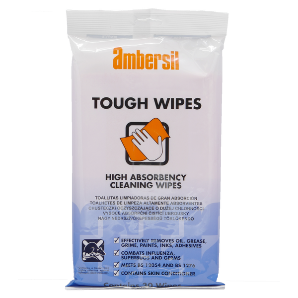 Ambersil Tough Wipes