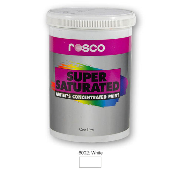 Rosco Supersaturated Scenic Paint - 6002 White 1L