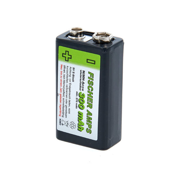 Fischer Amps 9V NiMH rechargeable battery