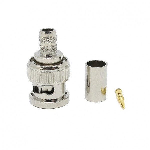 Crimp-able BNC 75 Ohm male