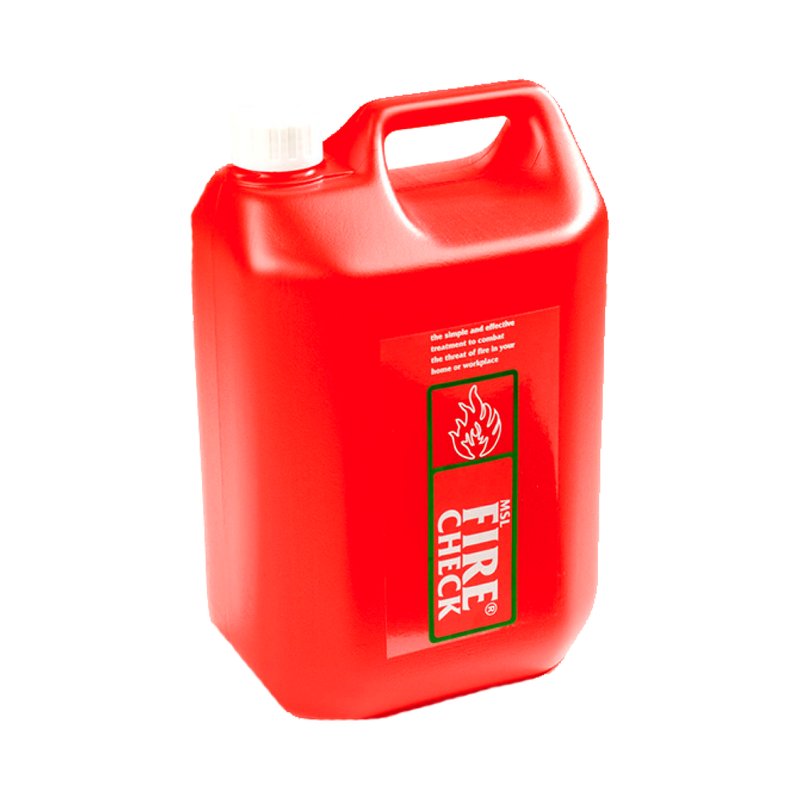 5l MSL Firecheck Fire Retardant Bottle