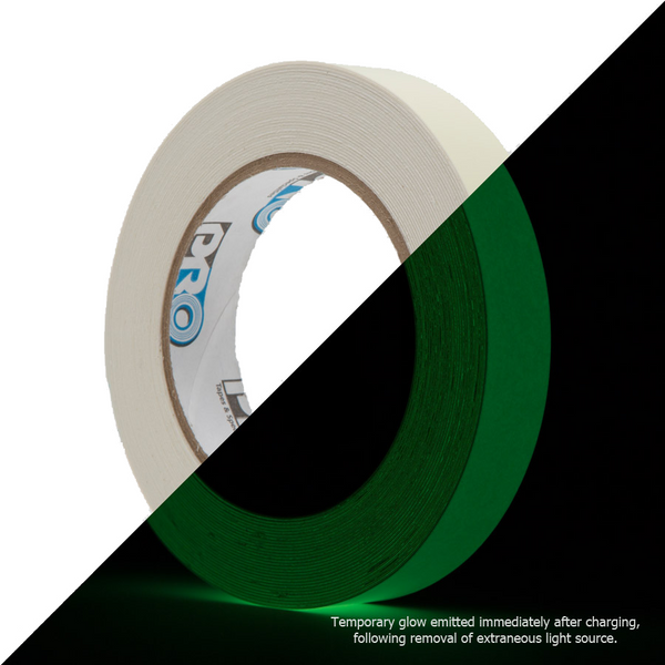 Pro Glow - Glow in the dark tape 20mm x 10m