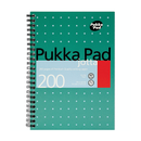 Pukka Pad Wirebound Jotta Notebook, A4, Ruled, 200 Pages