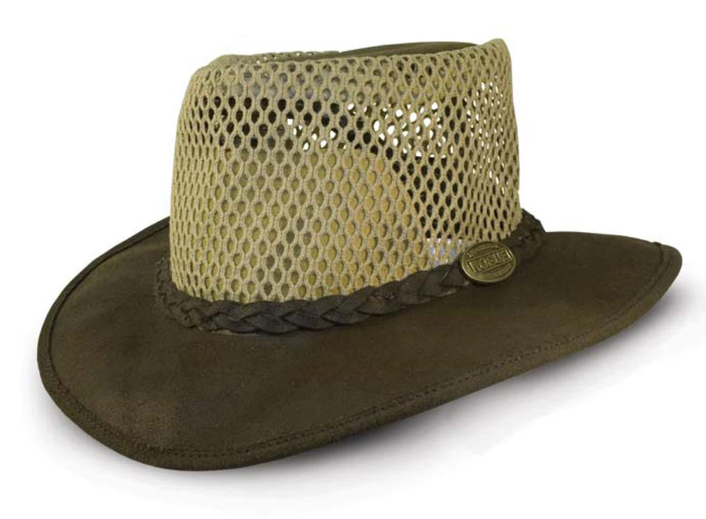 Rogue  Oiled Suede Packaway Breezy hat