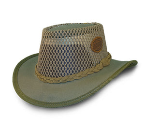 Rogue Canvas Airhead Hat in Olive 304L