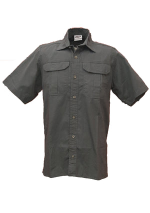 RuggedWear - Mara - Short Sleeve Sage Shirt