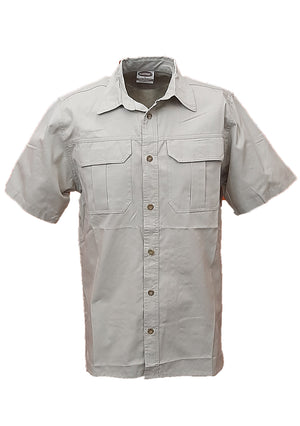 RuggedWear - Mara - Short Sleeve Khaki Shirt