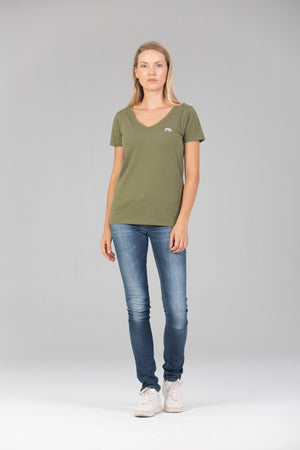 SORAI - Ladies V Neck Tee