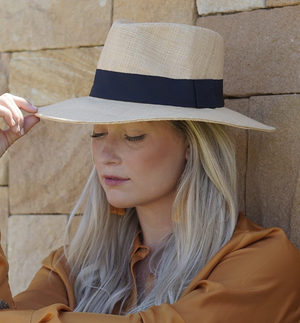 Morgan Sun hat in Natural
