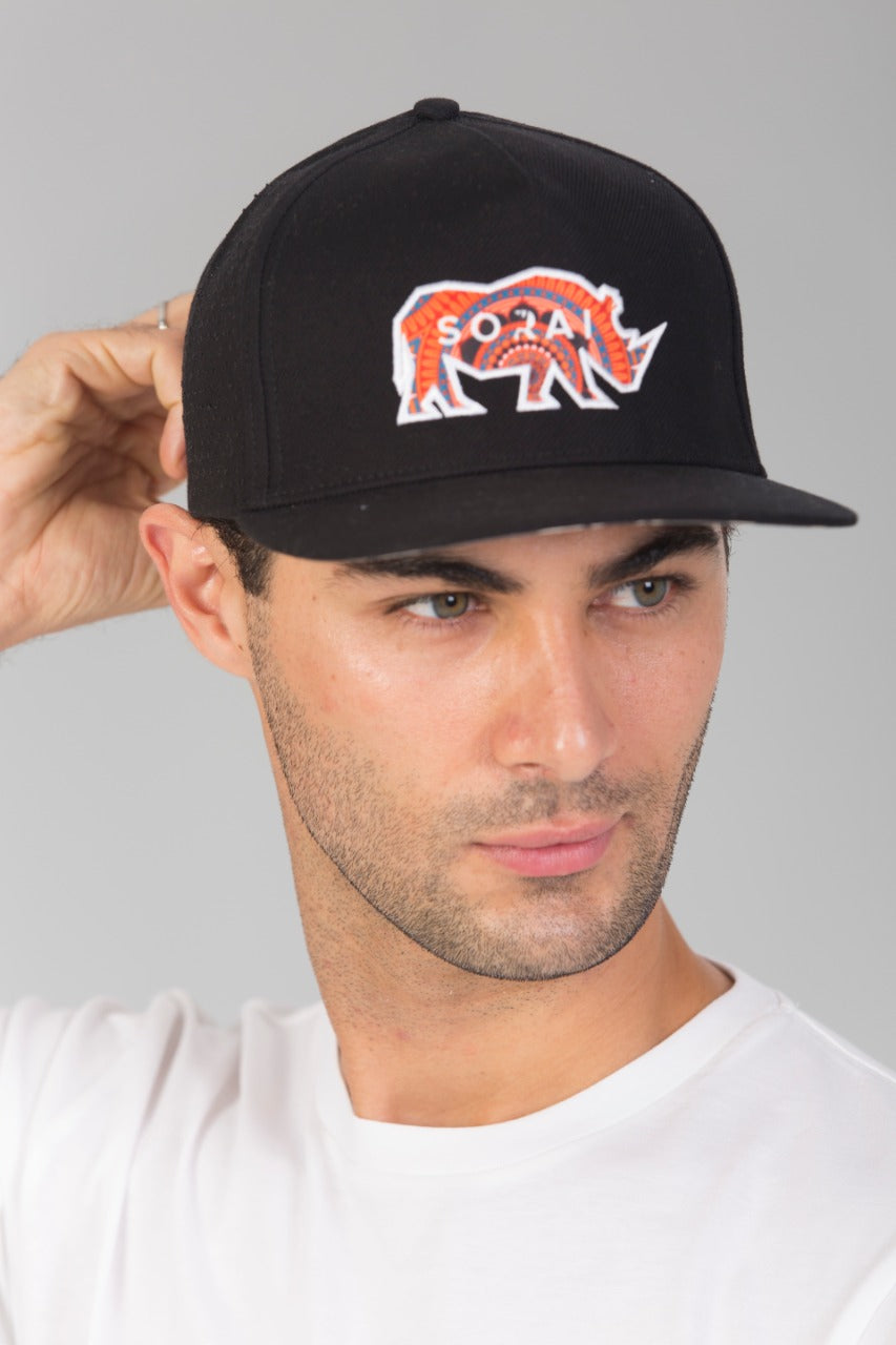 SORAI - Golf Cap 'Rhino Applique'