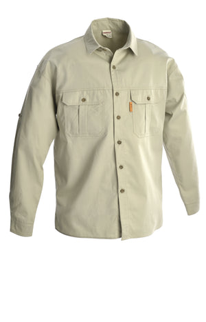 RuggedWear - Crocodile - Long Sleeve Khaki / Stone Shirt