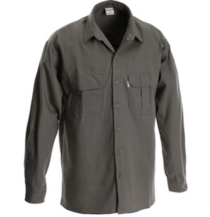 RuggedWear - Serengeti Long Sleeve - Olive Shirt (heavier weight)