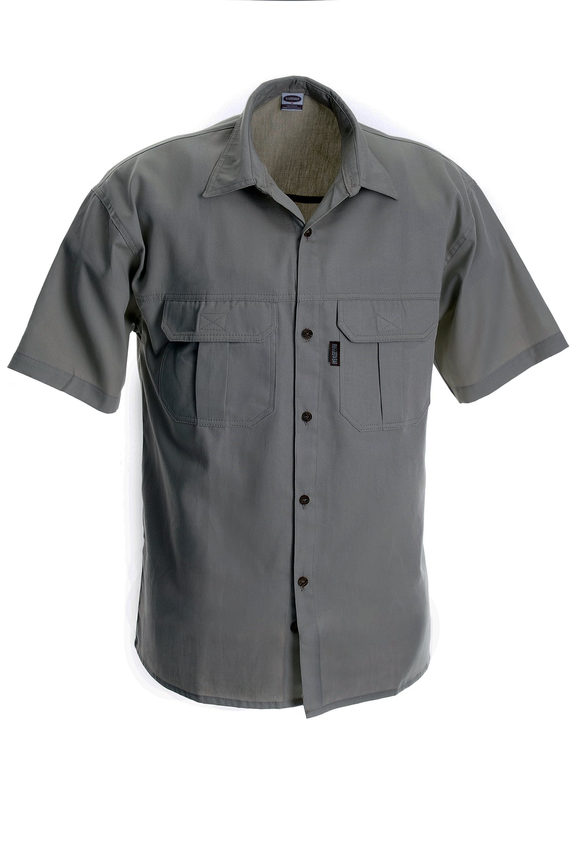 RuggedWear - Serengeti - Short Sleeve Olive Shirt