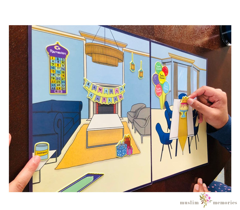 Decorate Your Home for Ramadan & Eid Stickers
