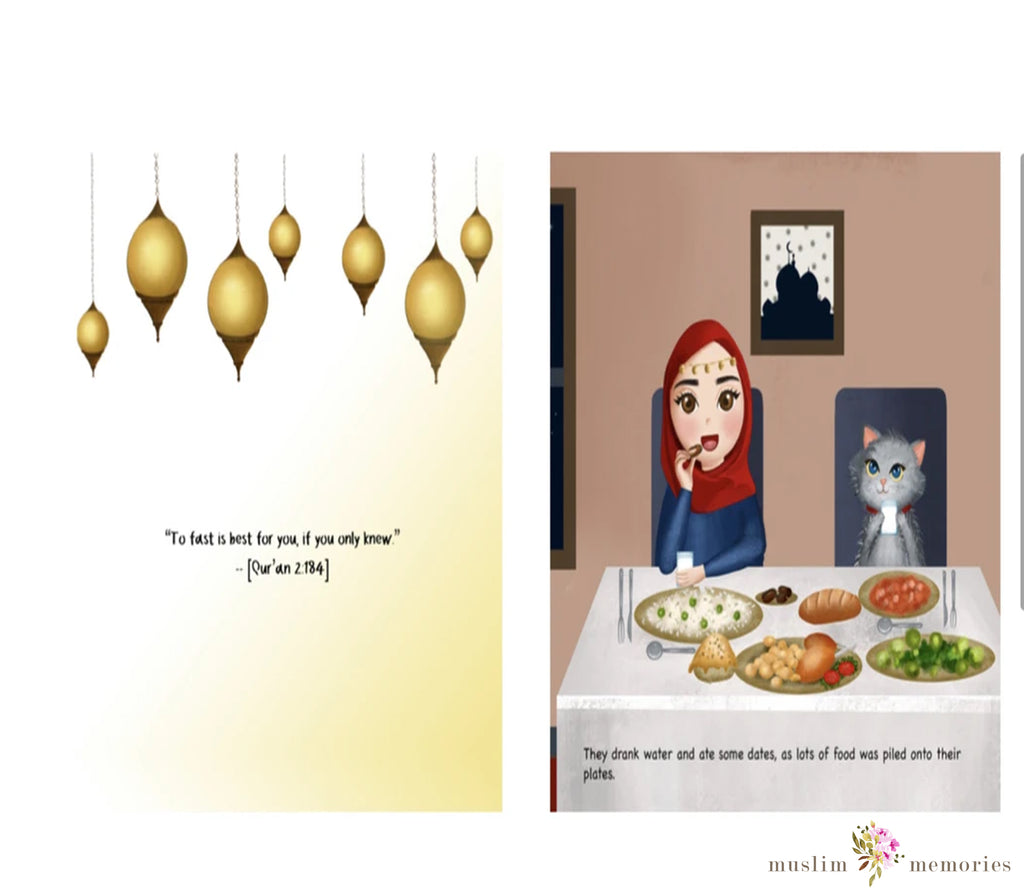 Khadijah and Cat: Ramadan Is Here!