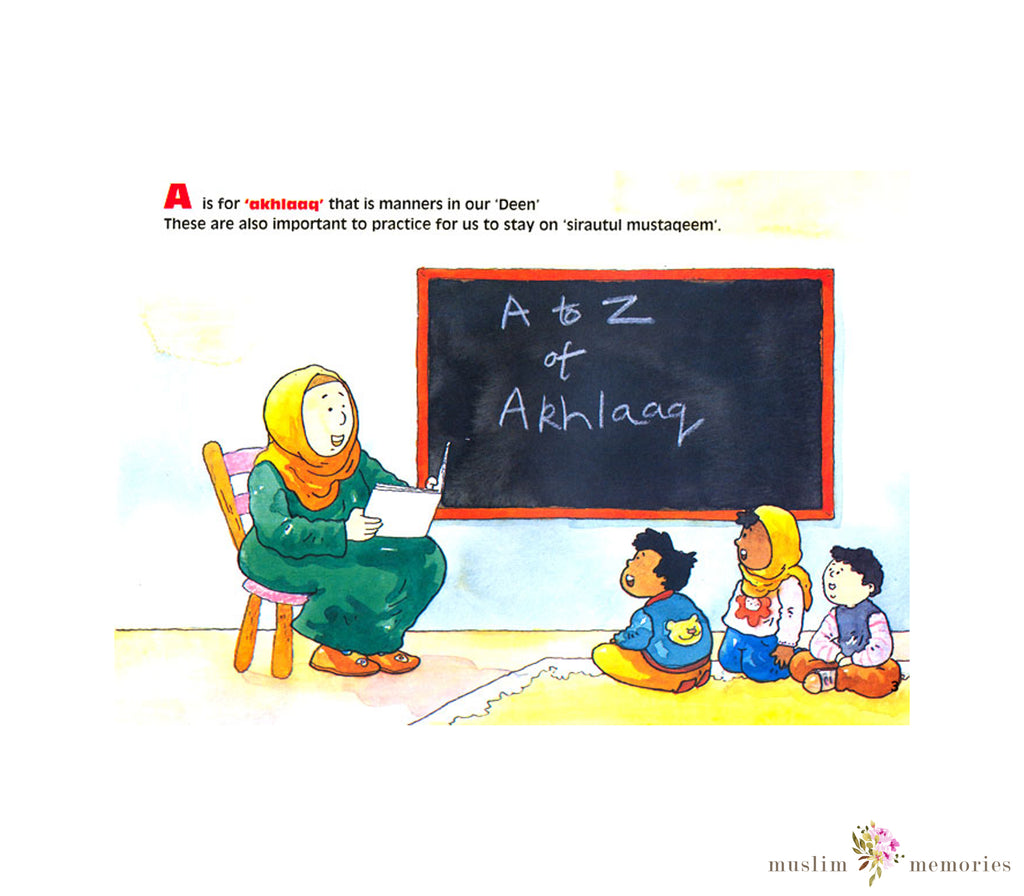 A to Z of Akhlaaq : Moral Values for Children