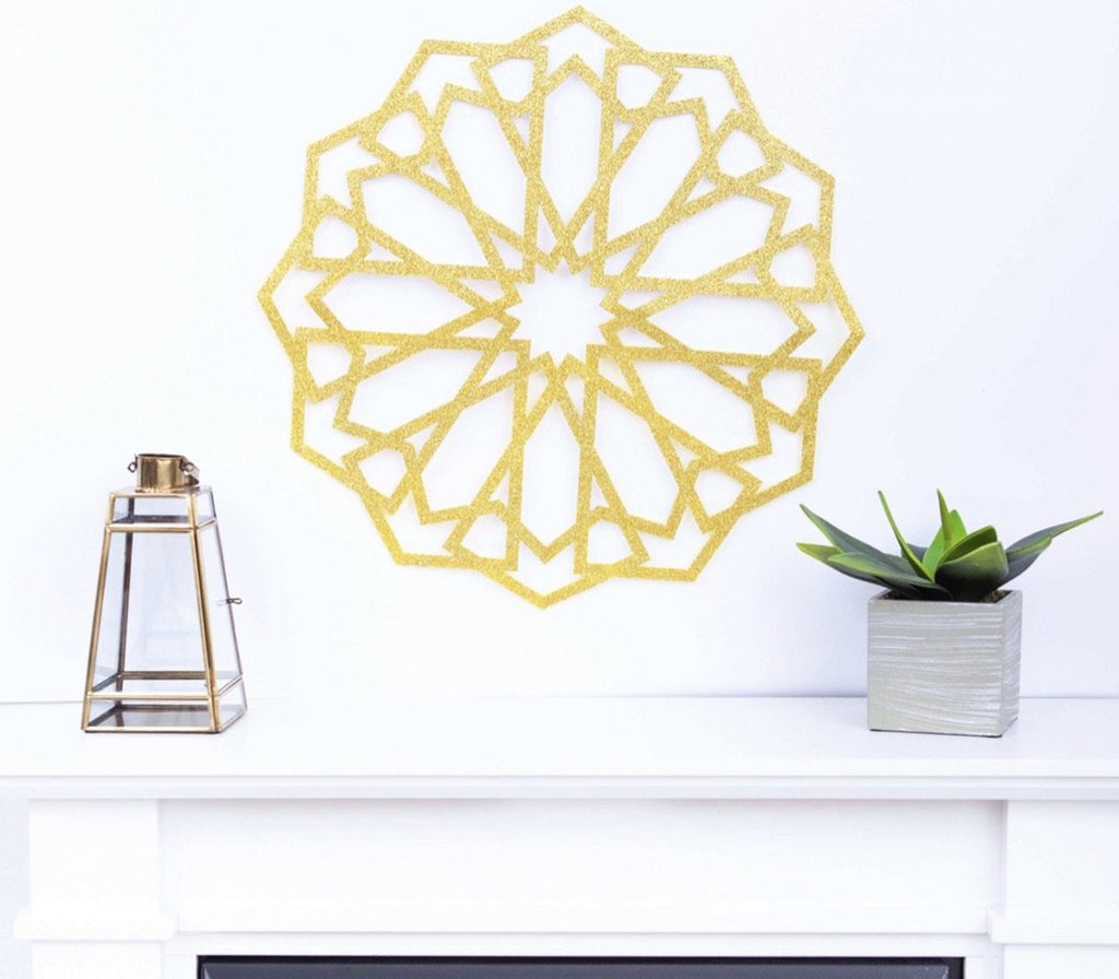Arabesque Wall Decor - Muslim Memories