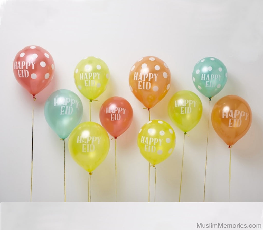 Eid Party Latex Balloons