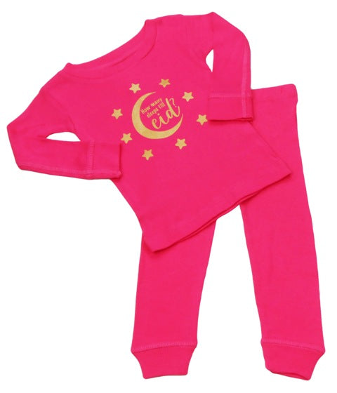 How Many Sleeps till Eid Set - Toddler (Multiple Colors) - Muslim Memories