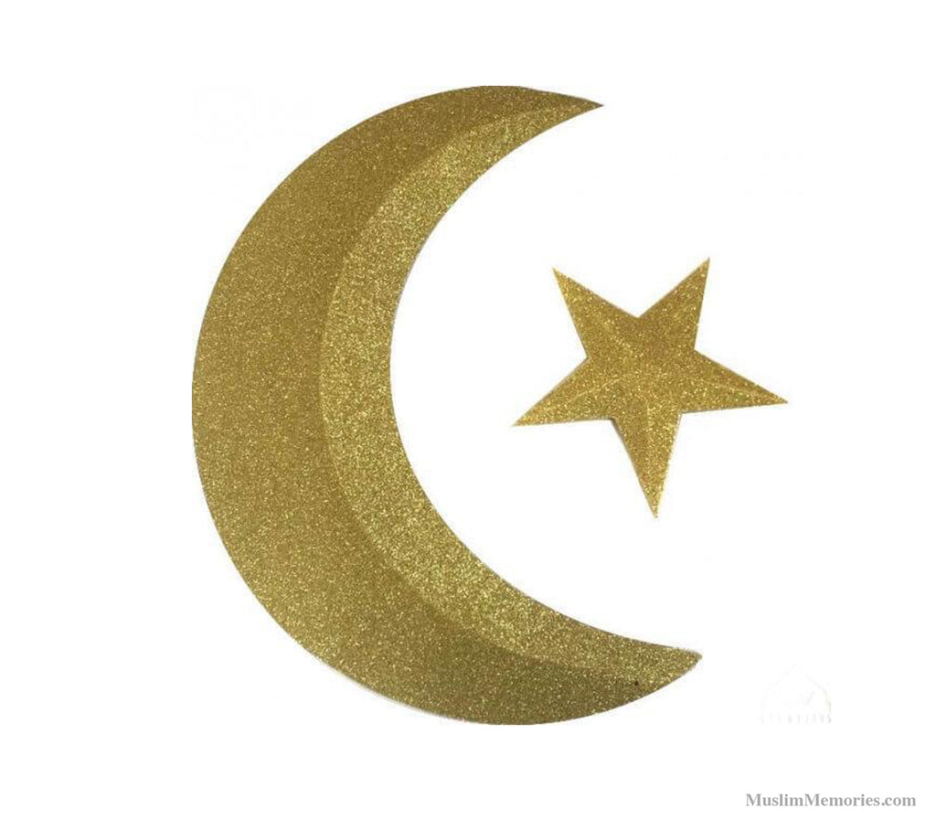 Crescent and Star 3D - Muslim Memories