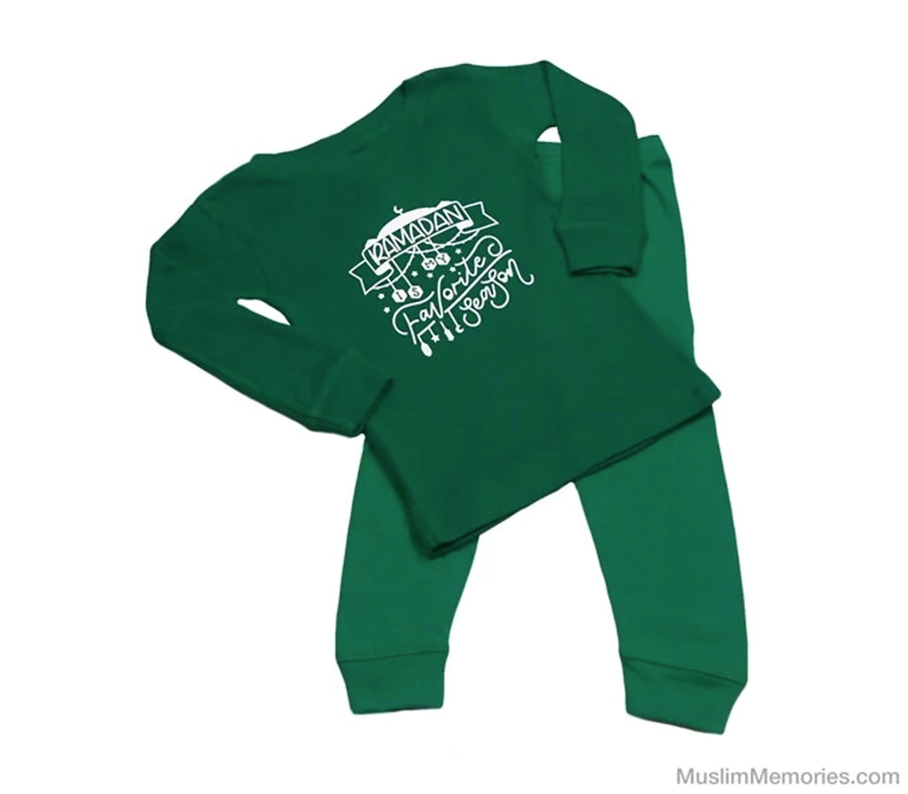 Ramadan Is My Favorite Season Set - Toddler (Multiple Colors) - Muslim Memories
