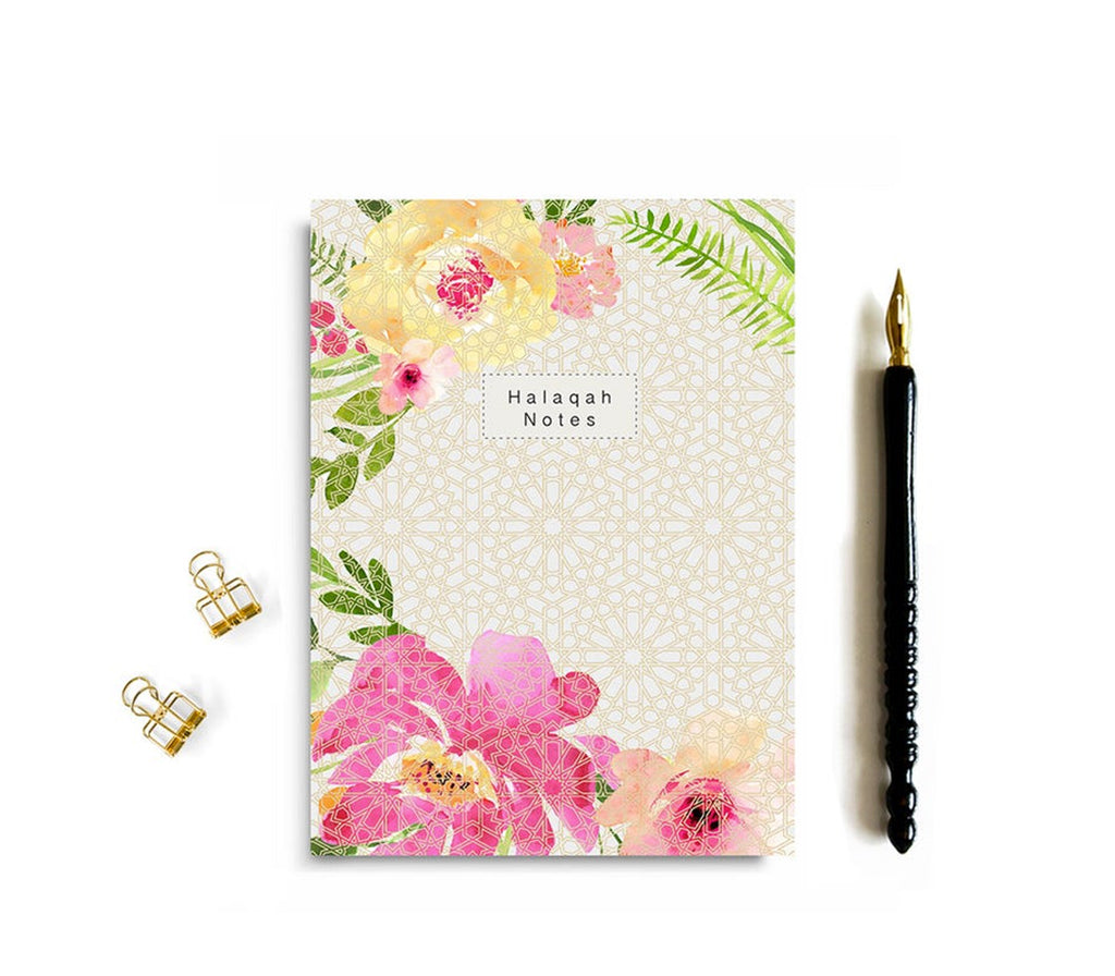 Halaqah Notes Notebook - Muslim Memories