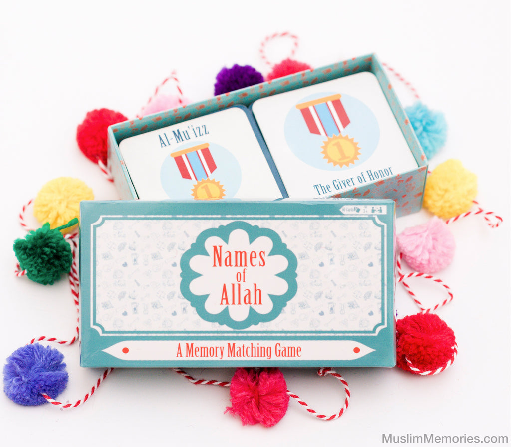 Names of Allah: A Memory Matching Game - Muslim Memories