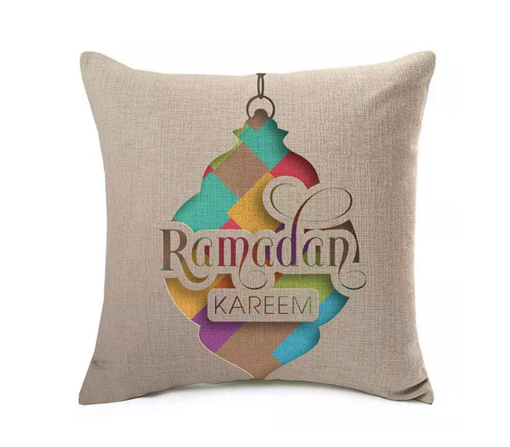 Ramadan Islamic Lantern Pillow Case - Muslim Memories