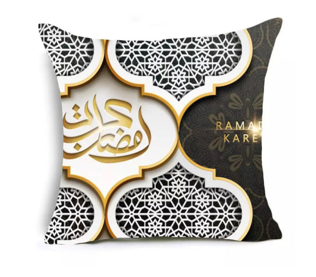 Ramadan Arabesque Design Pillow Case - Muslim Memories
