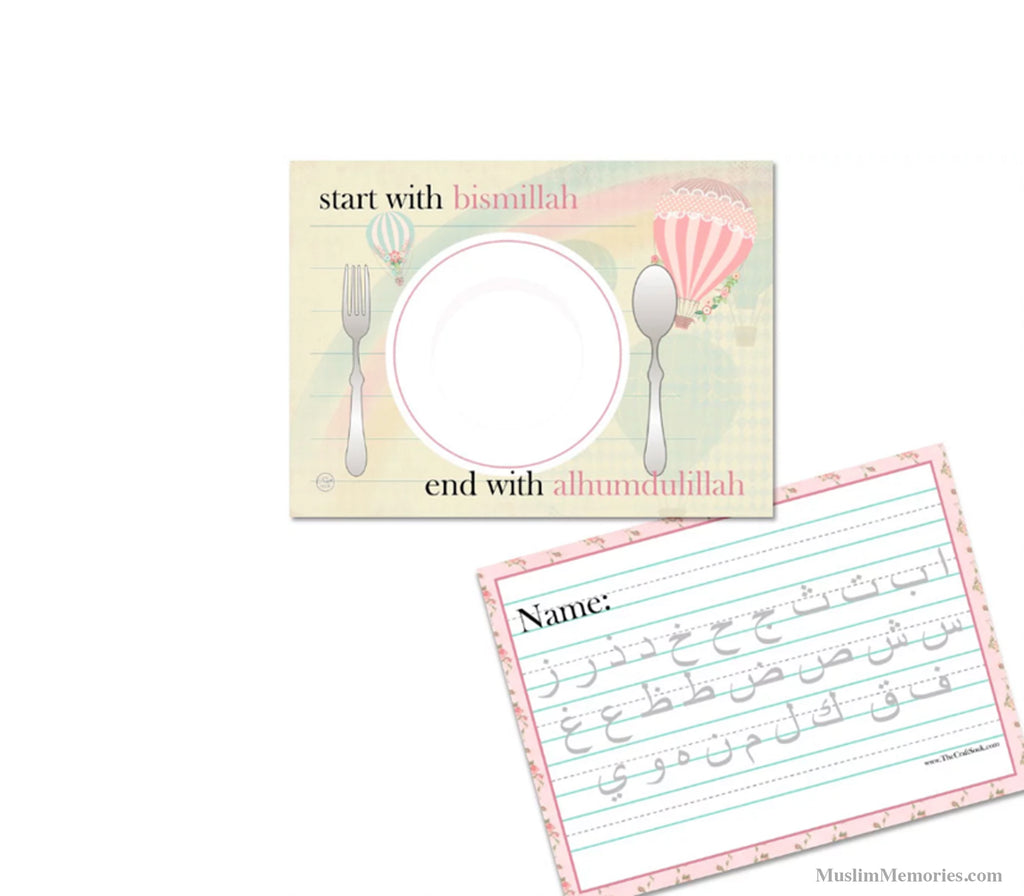 Rainbow Placemat - Muslim Memories