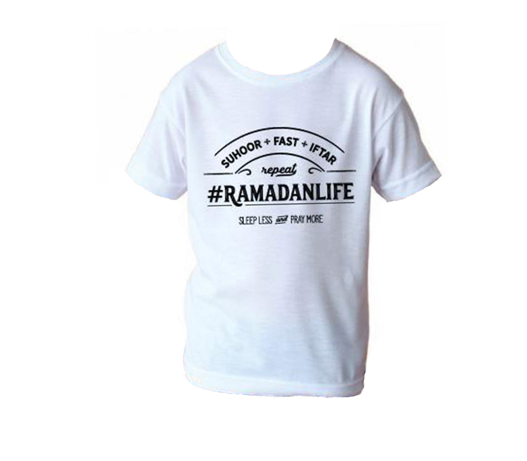 Ramadan Life Tee Youth Large - Muslim Memories