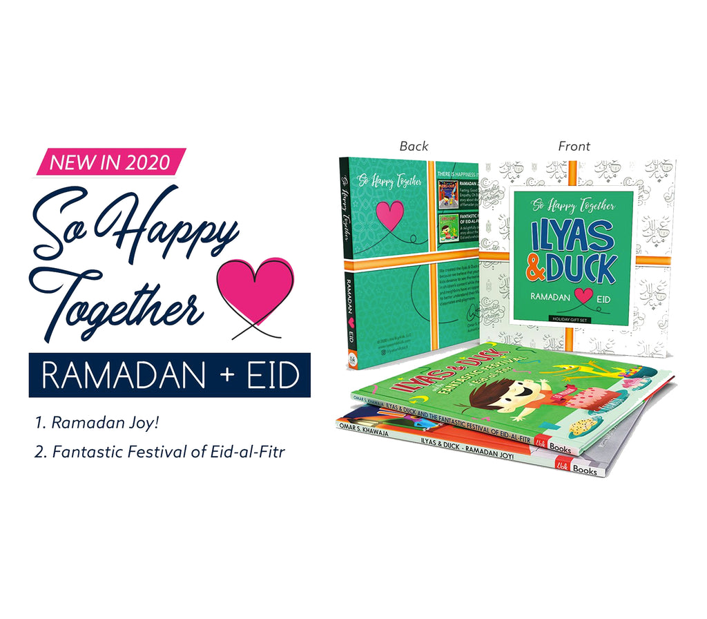 Ilyas & Duck - So Happy Together Set (2 books)