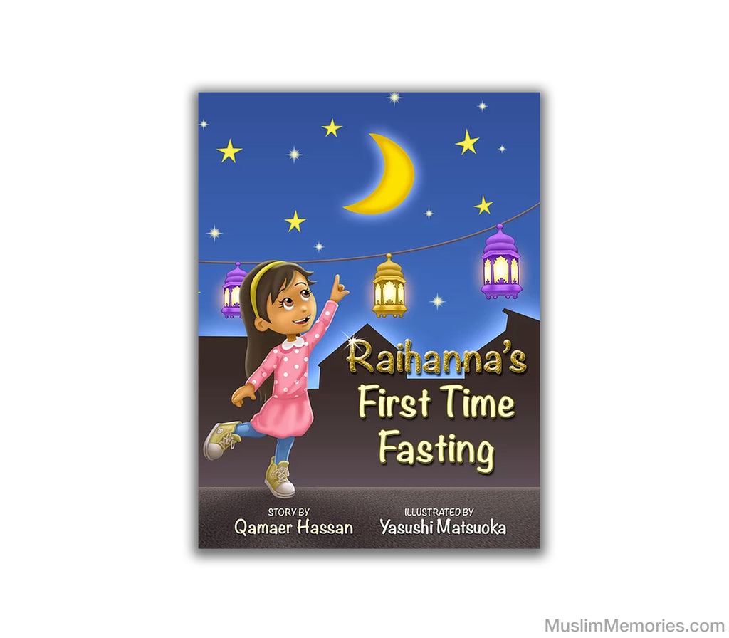 """Raihanna's First Time Fasting"" Hardcover book"