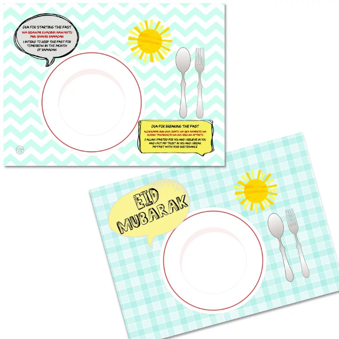 Sunshine Placemat - Muslim Memories
