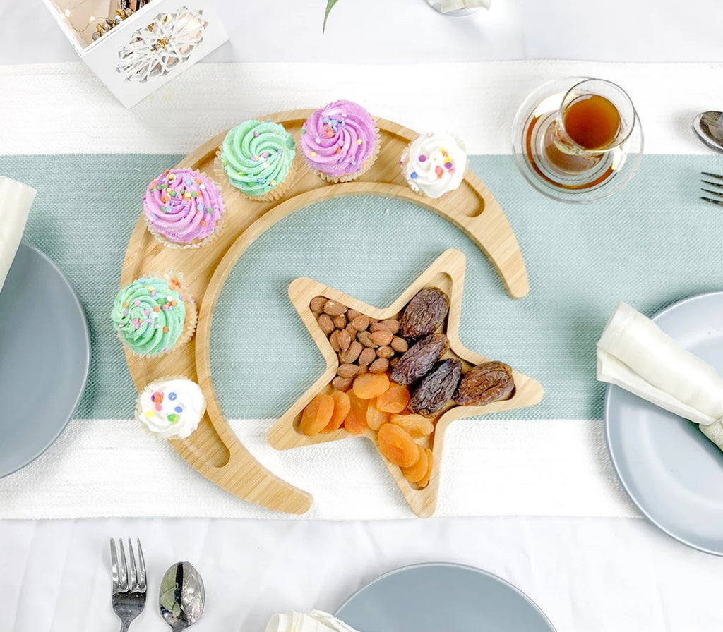 Crescent & Star Tray Set