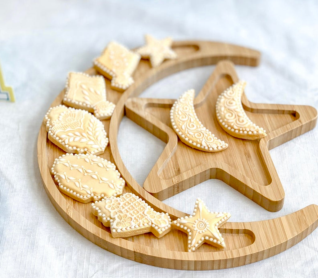 Crescent & Star Tray Set - Muslim Memories