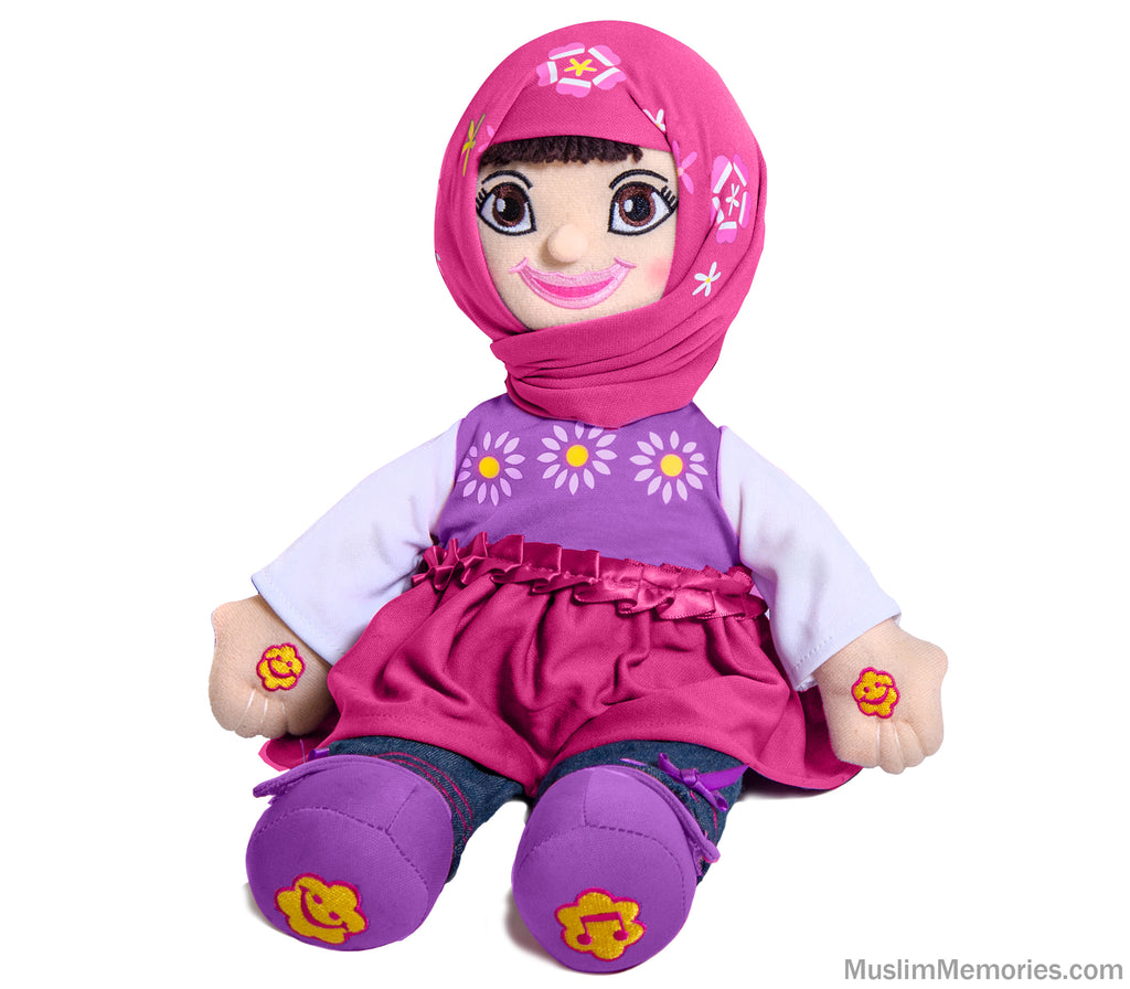 Aamina Doll- English/Arabic Speaking