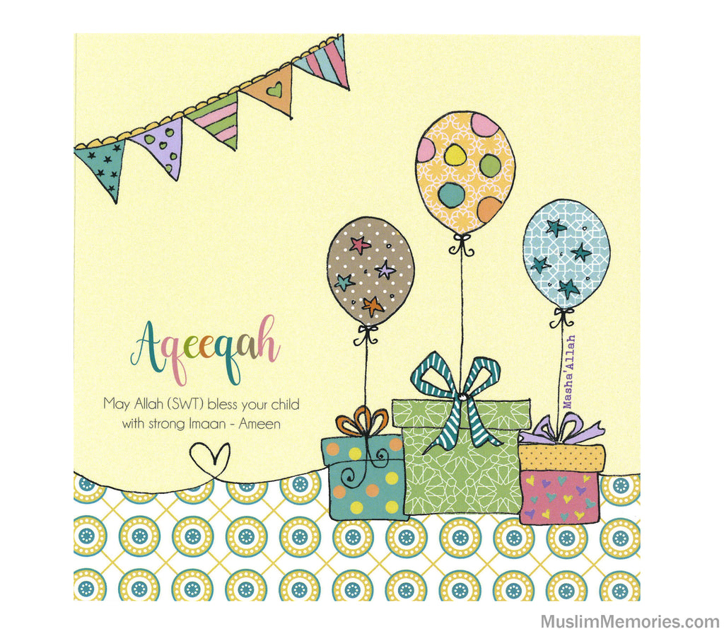 Aqeeqa Gifts Card