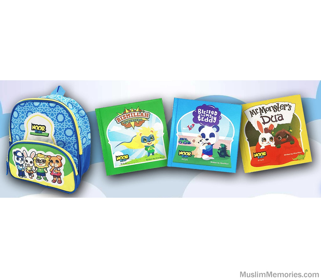 Noor Kids- Baby Book Bundle Set
