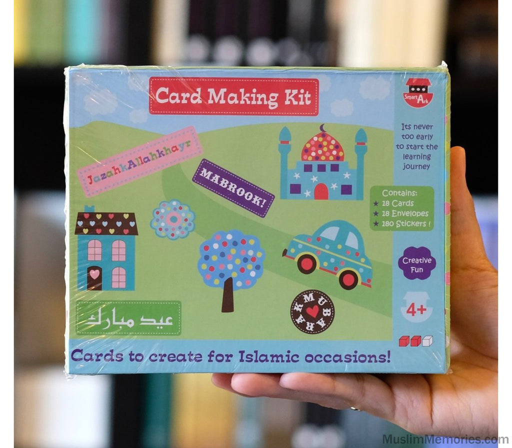 Card Making Kit (Makes 18 Cards with over 180 Stickers!)